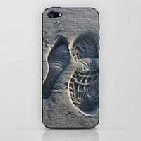 iPhone case: Footprints in sand