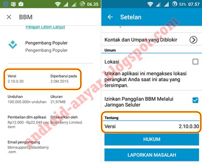 Download BBM 2.10.0.30 .APK Final Update
