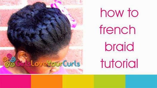 The Easiest French Braid Tutorial Youll See Curlynikki Natural