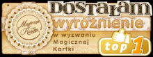 Wyróżnienie z Magicznej Kartce