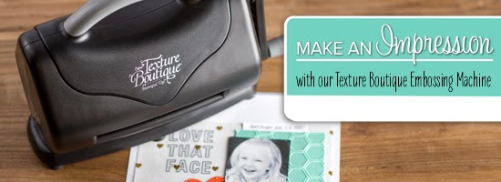 Available Now The Texture Boutique Embossing Machine