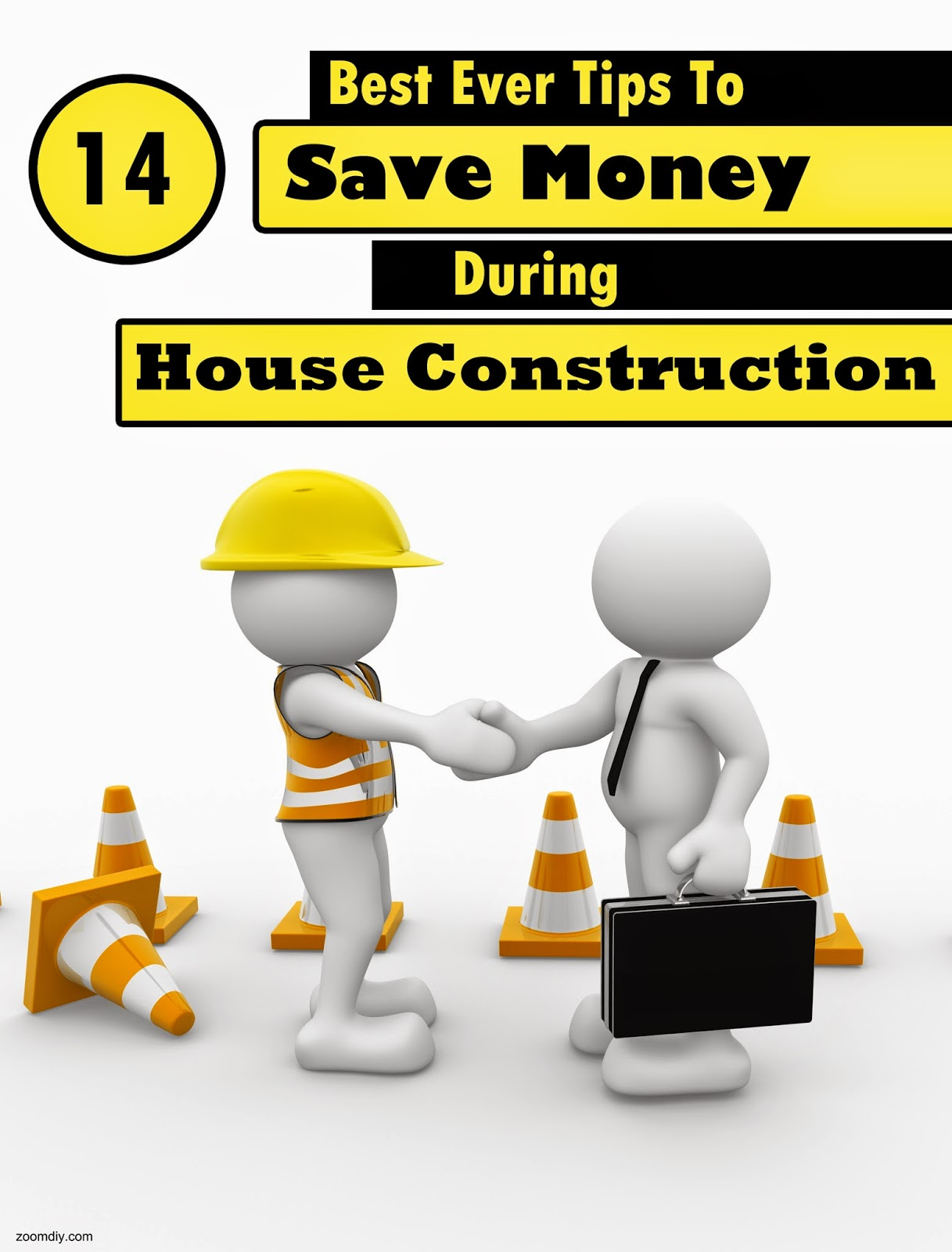 14 best ever tips to save money during house construction for Save money building a house