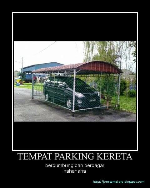 TEMPAT PARKING KERETA