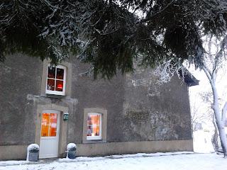 Ardennes Ardennen - Le gite Kerpa sous la neige ce 2 décembre 2012
