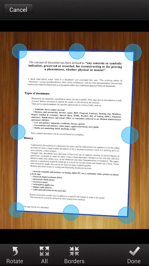 My Scans PRO, Document Scanner v1.4.4