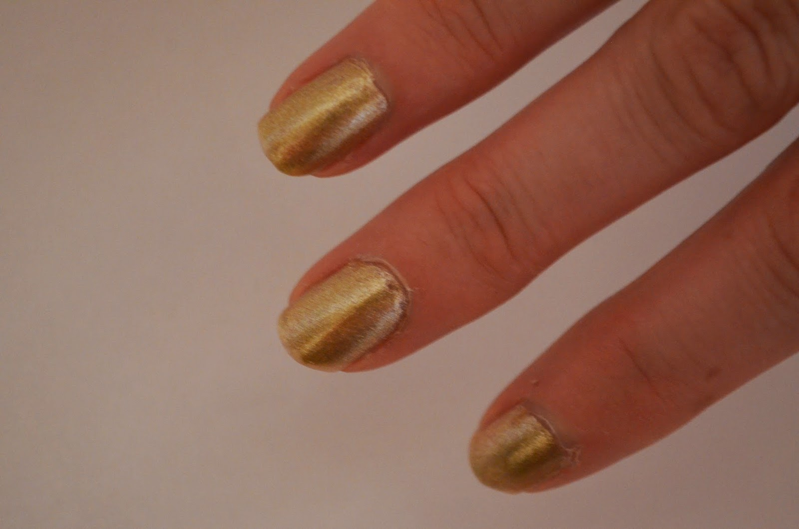 Nail polish Gold Butter London