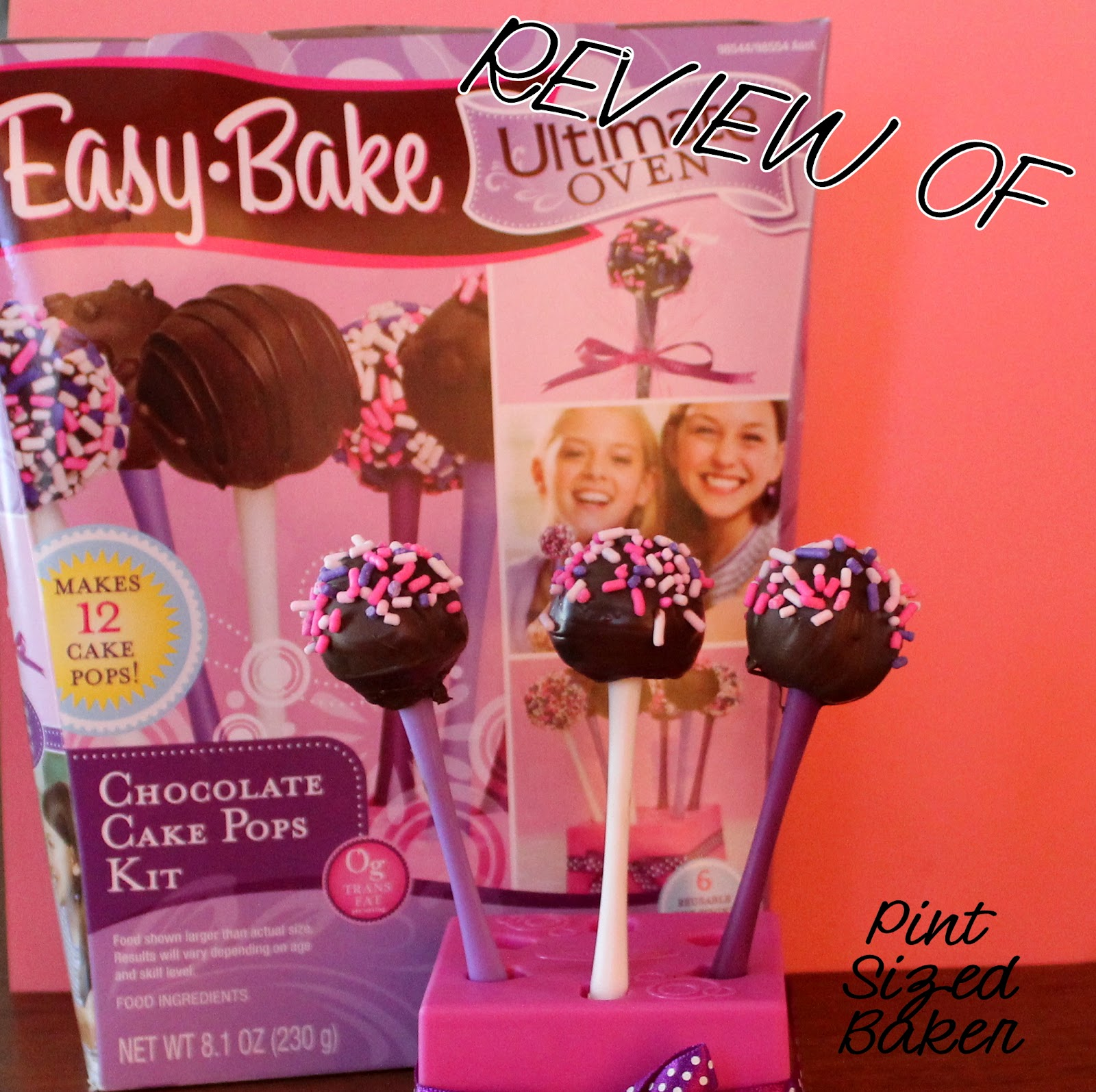 Review of easy bake oven cake pop kit pint sized baker review of easy bake oven cake pop kit forumfinder Gallery