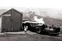 Em 1911 o Arraial ganha uma estação ferroviária (Cia. São Paulo & Minas)