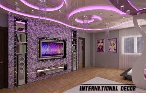 fashionable interior bedrooms