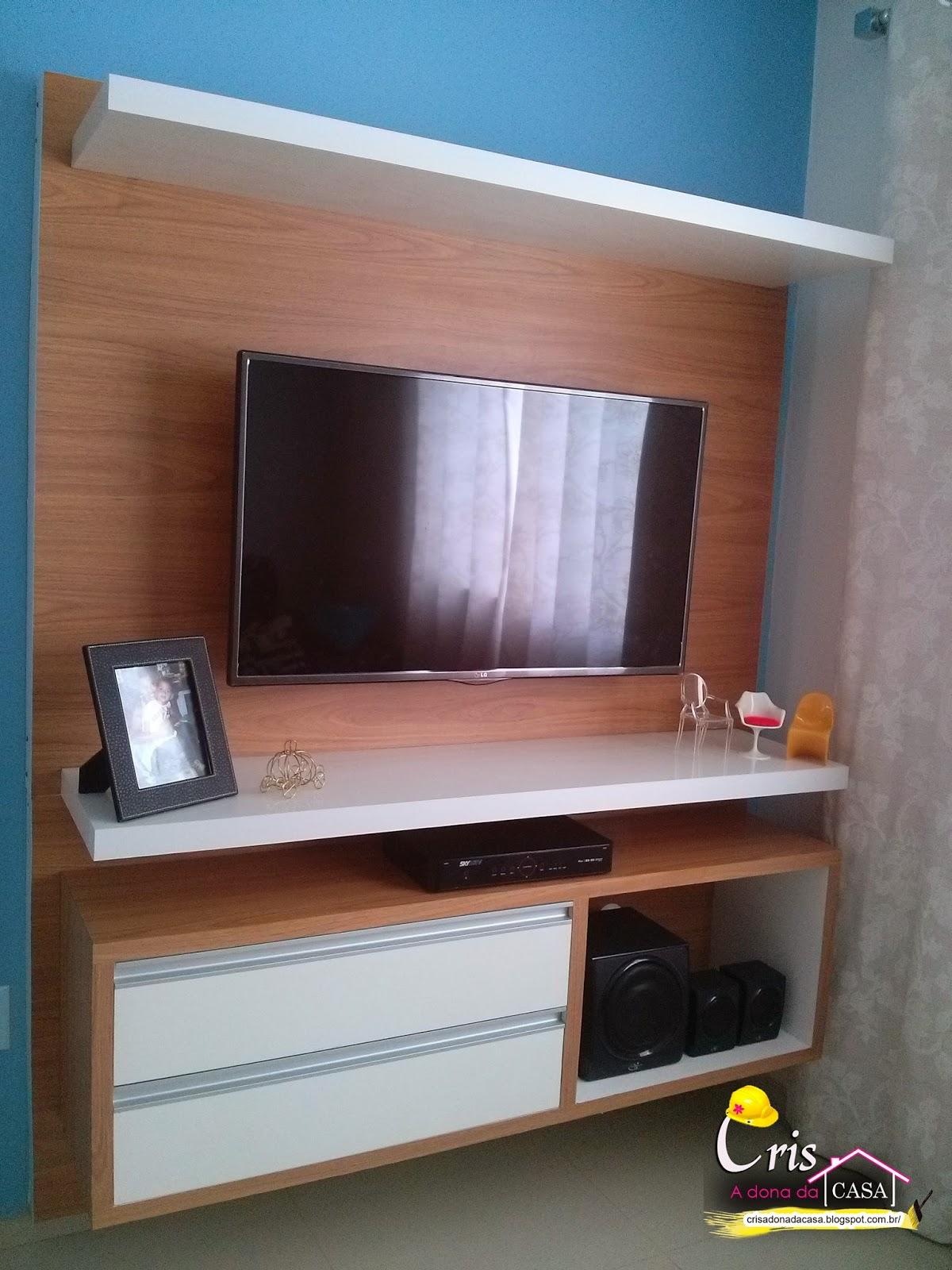Cris A Dona da Casa!: Painel/Rack da Sala #377094 1200x1600