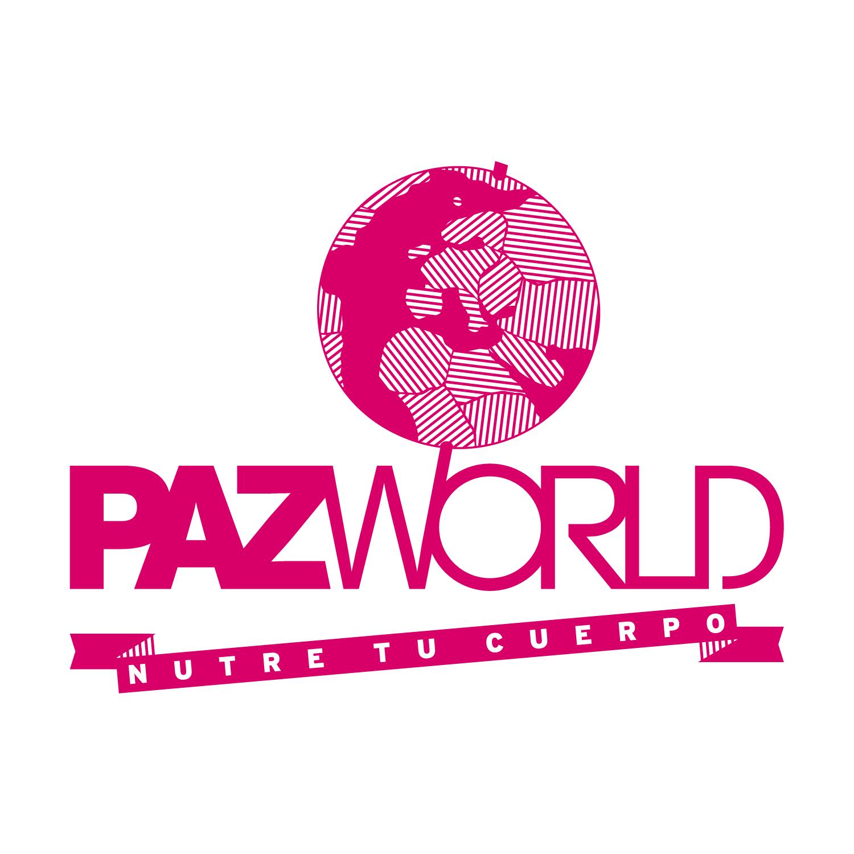 Logo. PazWorld (versión positivo)