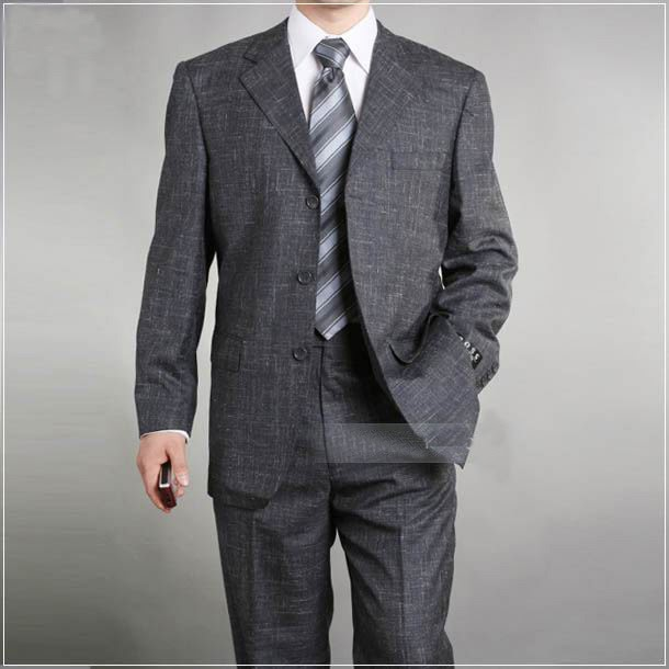 BEAUTY AND FASHION: MENS BUSINESS SUITS GREY SUIT