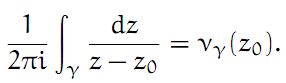 Complex Analysis: #12 Index of a Point with Respect to a Closed Path equation pic 2