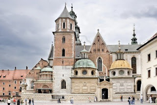 Wawel Castle in Cracow Poland renaissance monuments