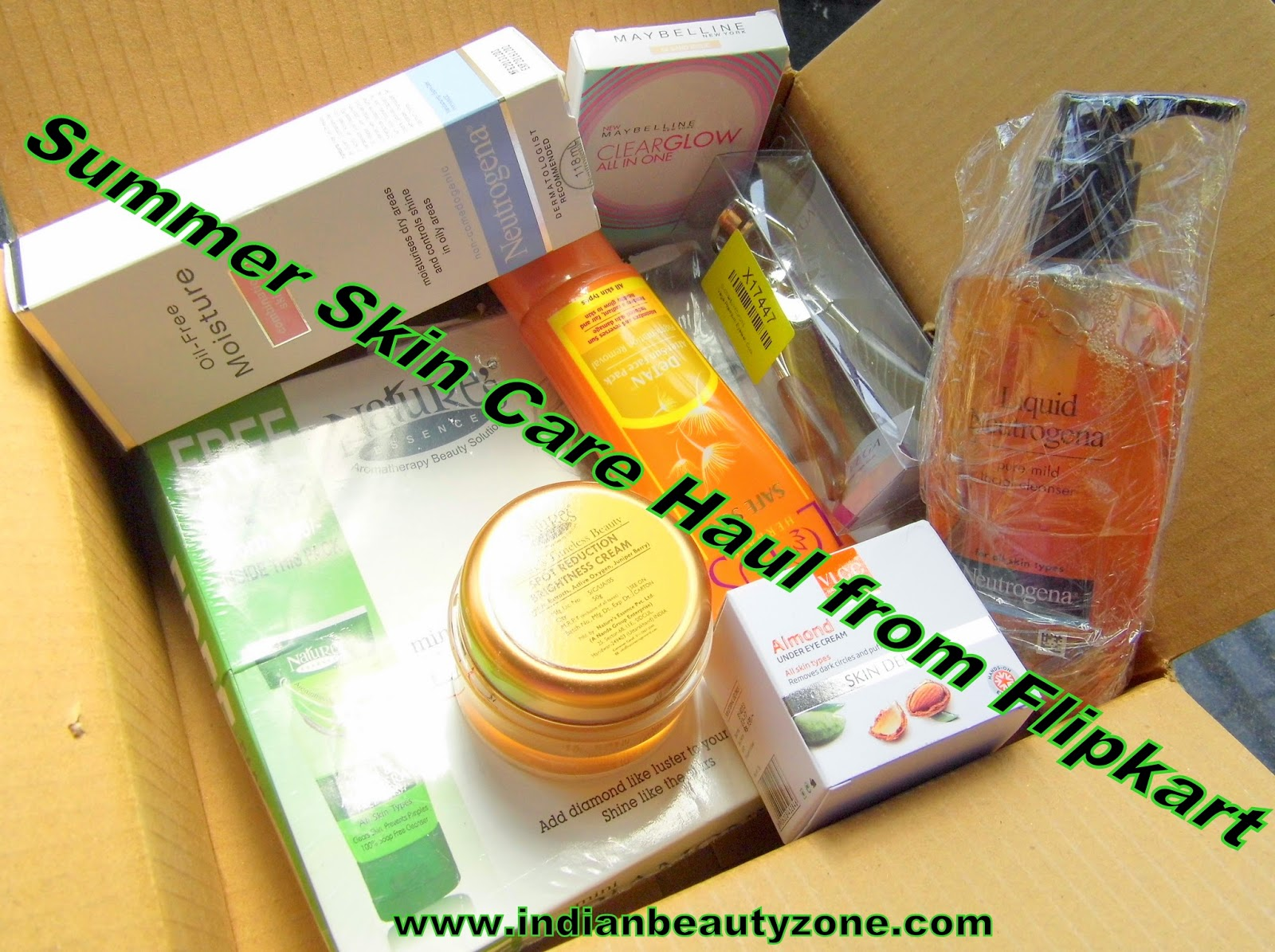 Beauty products shopping