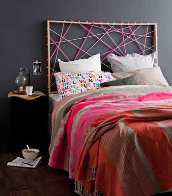 Boiserie c testate da letto fai da te diy splendide - Testate del letto fai da te ...
