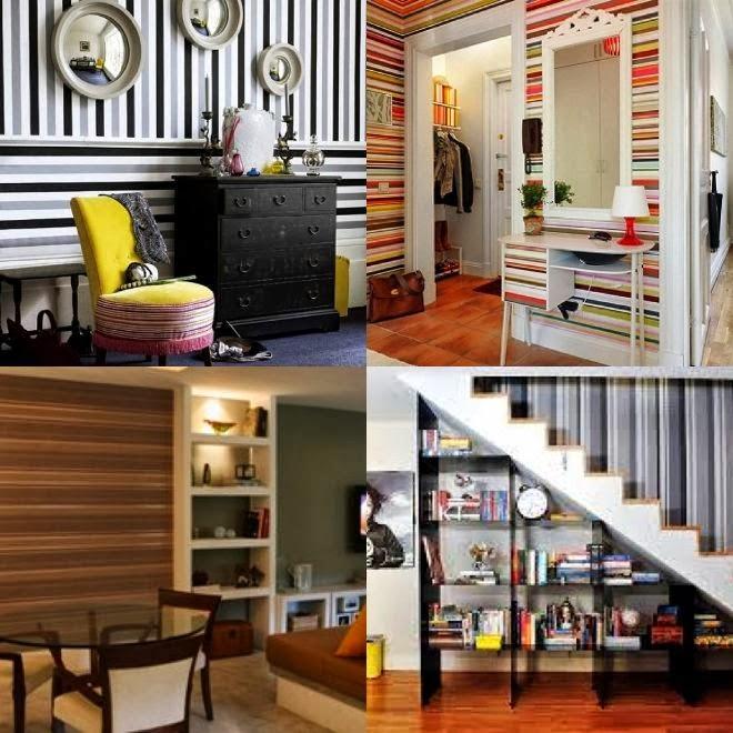 PAPEL DE PAREDE DE LISTRAS decorecomgaby.blogspot.com.br