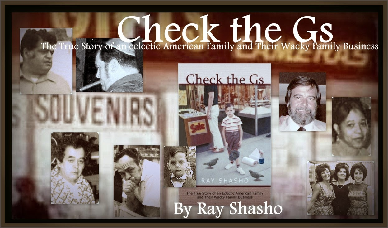 'Check the Gs' The True Story of an eclectic American Family and Their Wacky Family Business