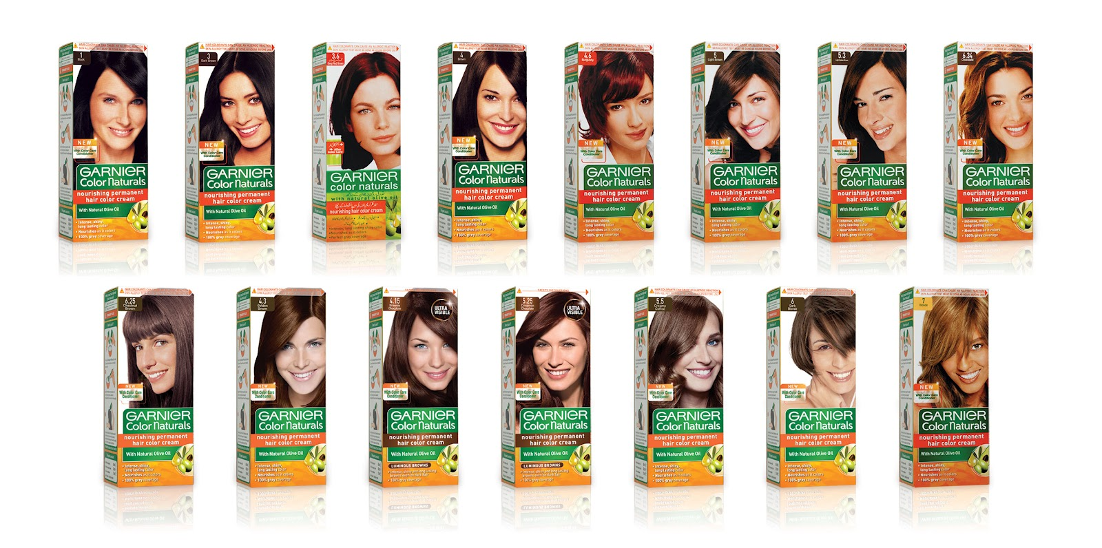 Fakhra Rafique39s Blog Taking Care  Garnier Color Naturals Introduced Ne
