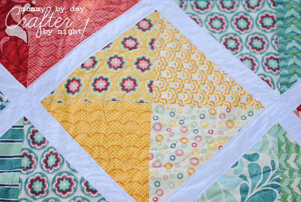 Mommy By Day Crafter By Night Salt Air Lattice Quilt
