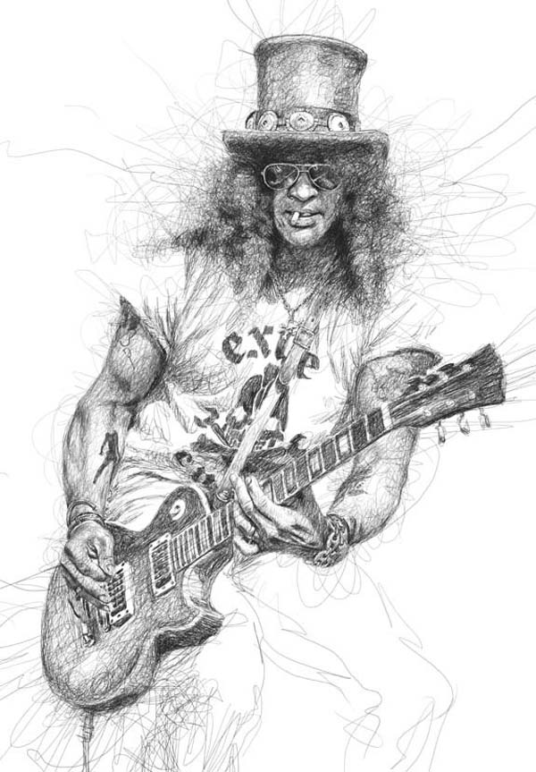 Slash, Guns n roses