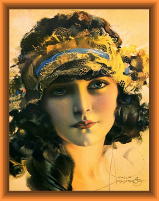 chica vintage de Rolf Armstrong