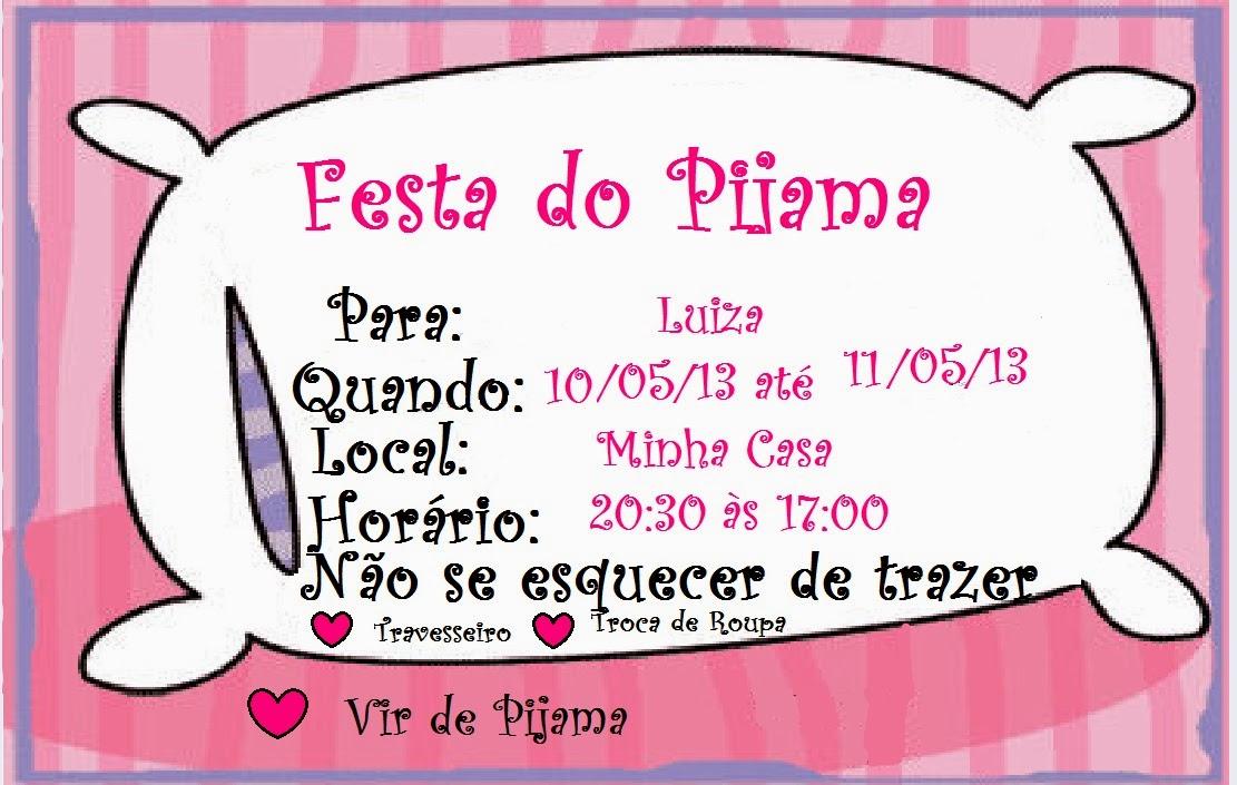 Rainbow Lollipop: Festa do Pijama