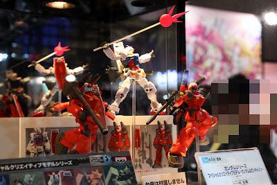 Banpresto Special Creative Model (S.C.M.) EX : Gundam & Guncannon