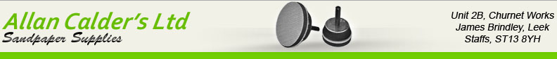 Allan Calder's Ltd - Sandpaper and Sanding Discs Supplier