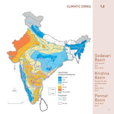 Climatic zones india