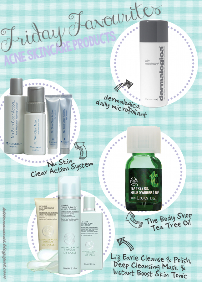 Best Acne Skincare Products: dermalogica, The Body Shop, Nu Skin & Liz Earle!