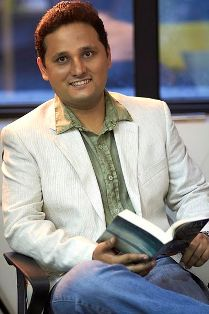 "Amish Tripathi:writer of ""the immortals of mehula"""