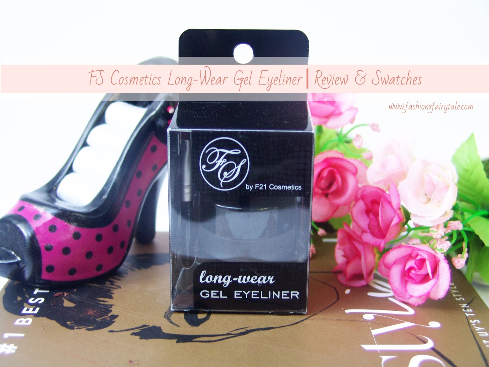 FS Cosmetics Long-Wear Gel Eyeliner | Review & Swatches