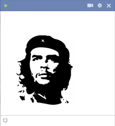 Che Guevara Emoticon For Facebook