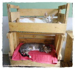 Porto das reliquias camas para gatos reciclando melhor - Camas para gatos ...
