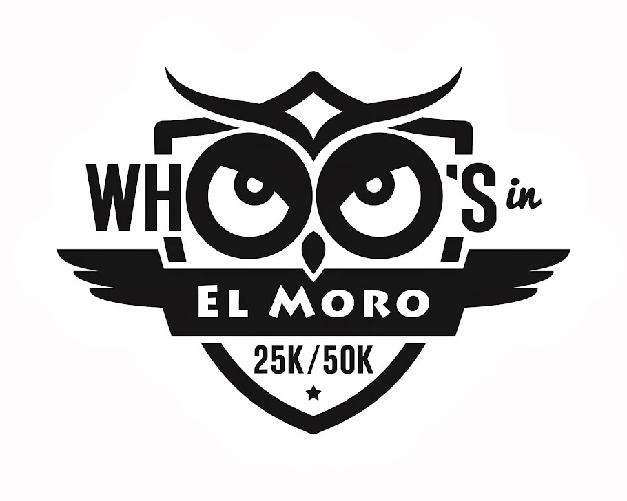 Whoo's In El Moro 25K/50K JUST ADDED 5K