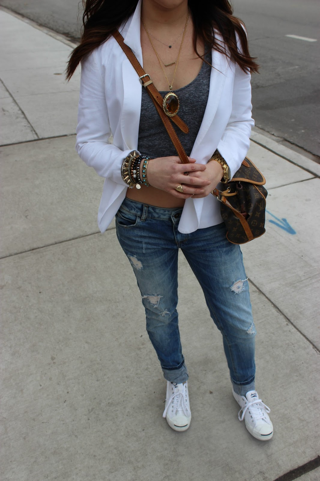 Converse Jack Purcell Outfit