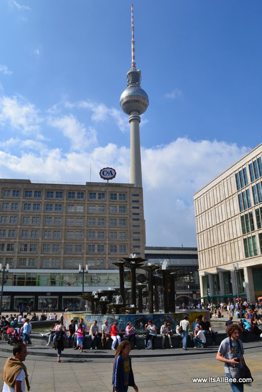 Alexander Platz  - TV Tower