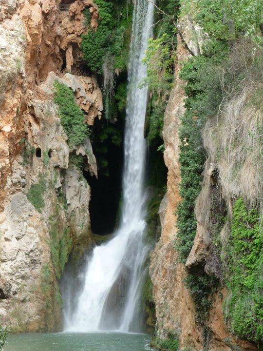 Fotoimpresiones aguas artificiales en el monasterio de for Cascadas artificiales de piedra