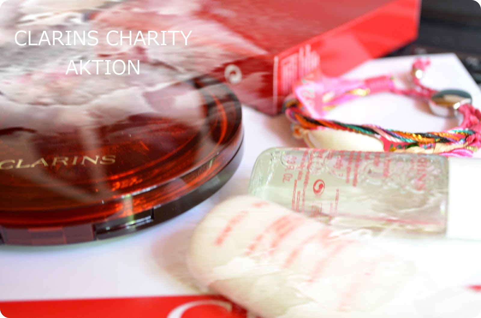 Charity Aktion Clarins und Hipanema
