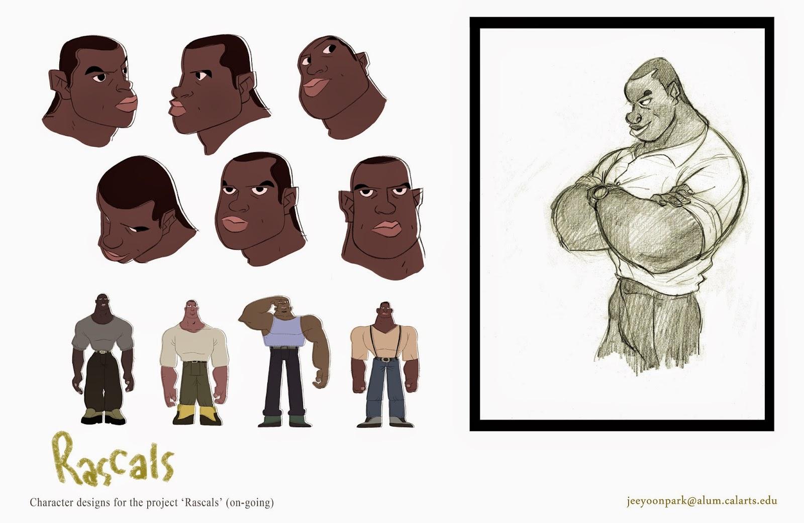 Character Design Visual Development Portfolio : Jeeyoon park portfolio