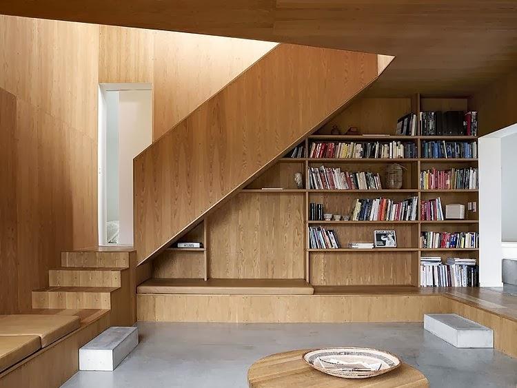 Muebles y decoraci n de interiores biblioteca debajo de - Libros de decoracion de interiores ...