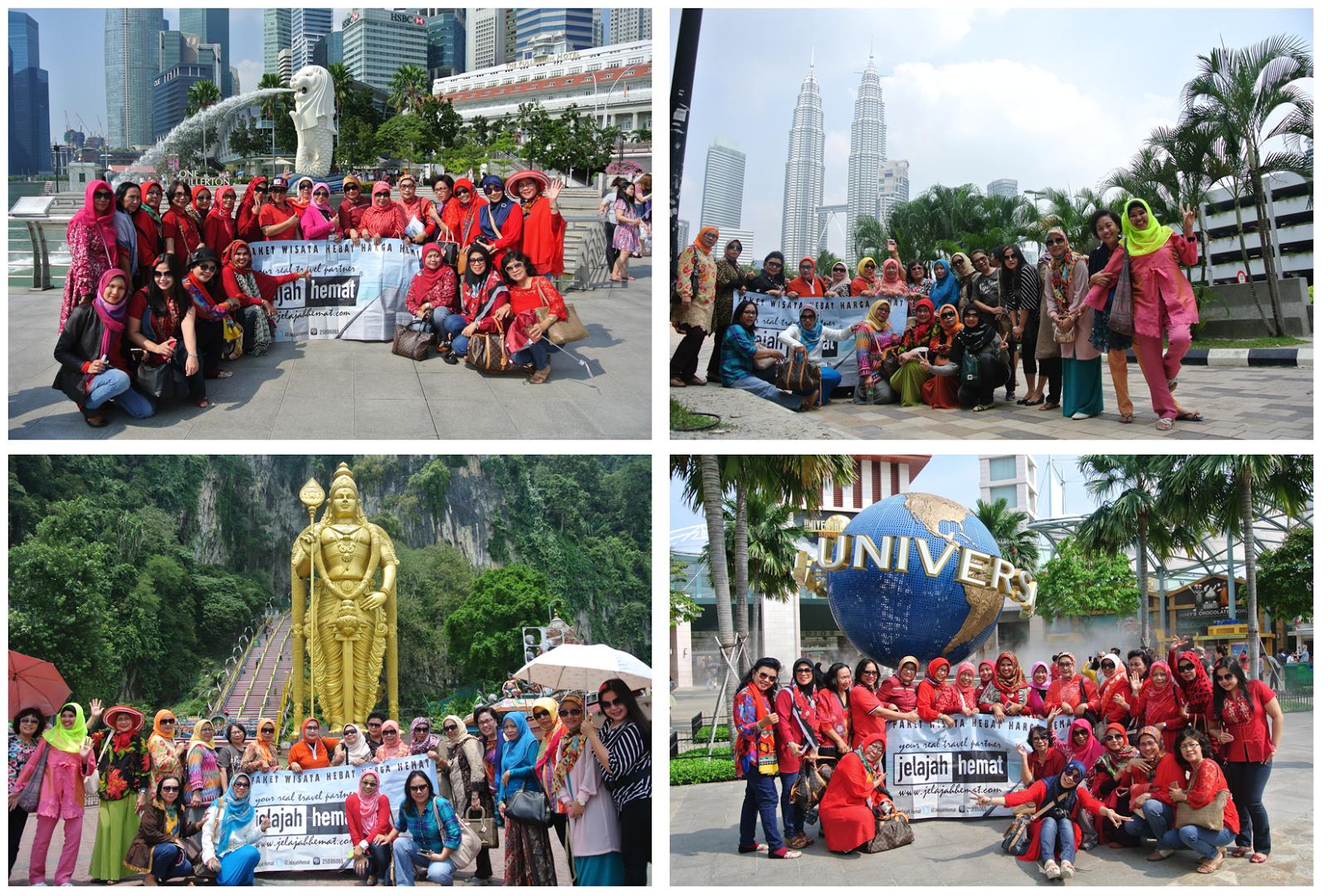 Paket Tour Singapura Malaysia