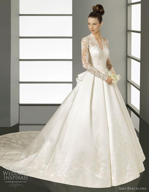 Aire barcelona wedding dresses 2012 bridal wears for Wedding dresses in barcelona spain