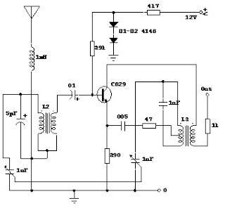 Pesawat radio penerima komed blog gambar 3 rangkaian amplifier ccuart Choice Image