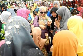 Abby Ajak Pengundi Kuala Besut Pilih Islam