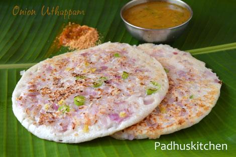 Onion Uthappam Recipe-How to make Onion Uttappam ...