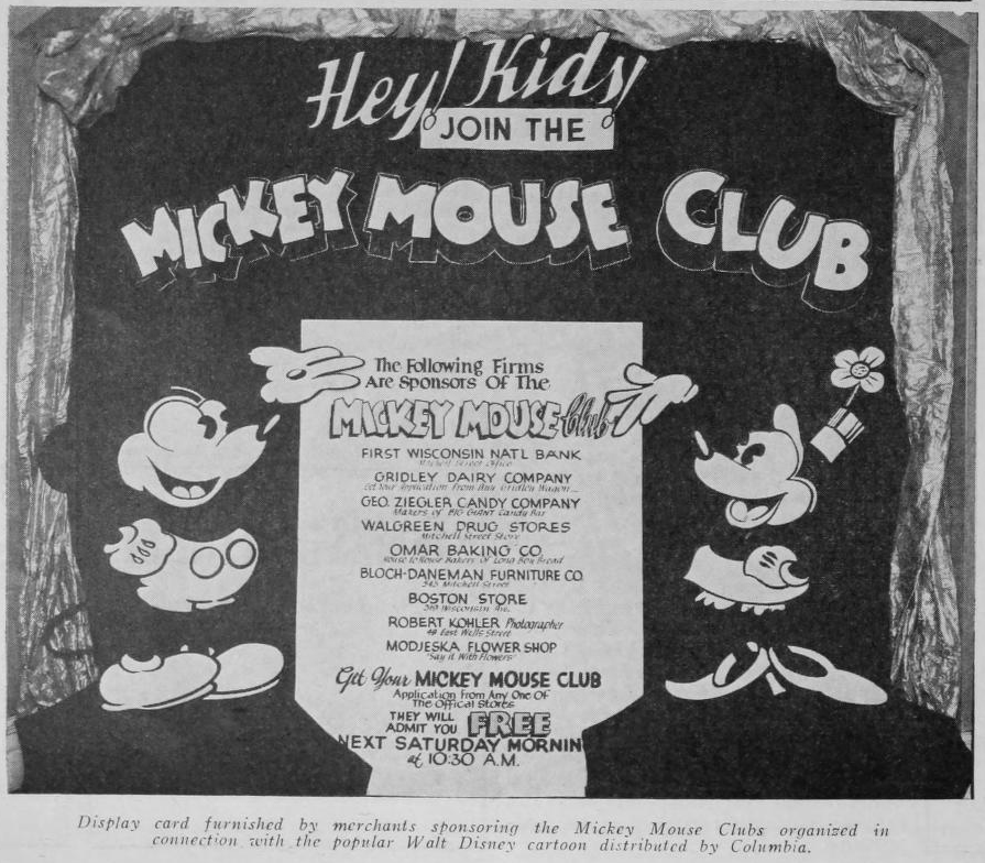 Mickey Mouse Fan Club Mickey Mouse Clubs Sweeping