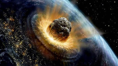 An asteroid impact would spark climate disaster claim by theorists