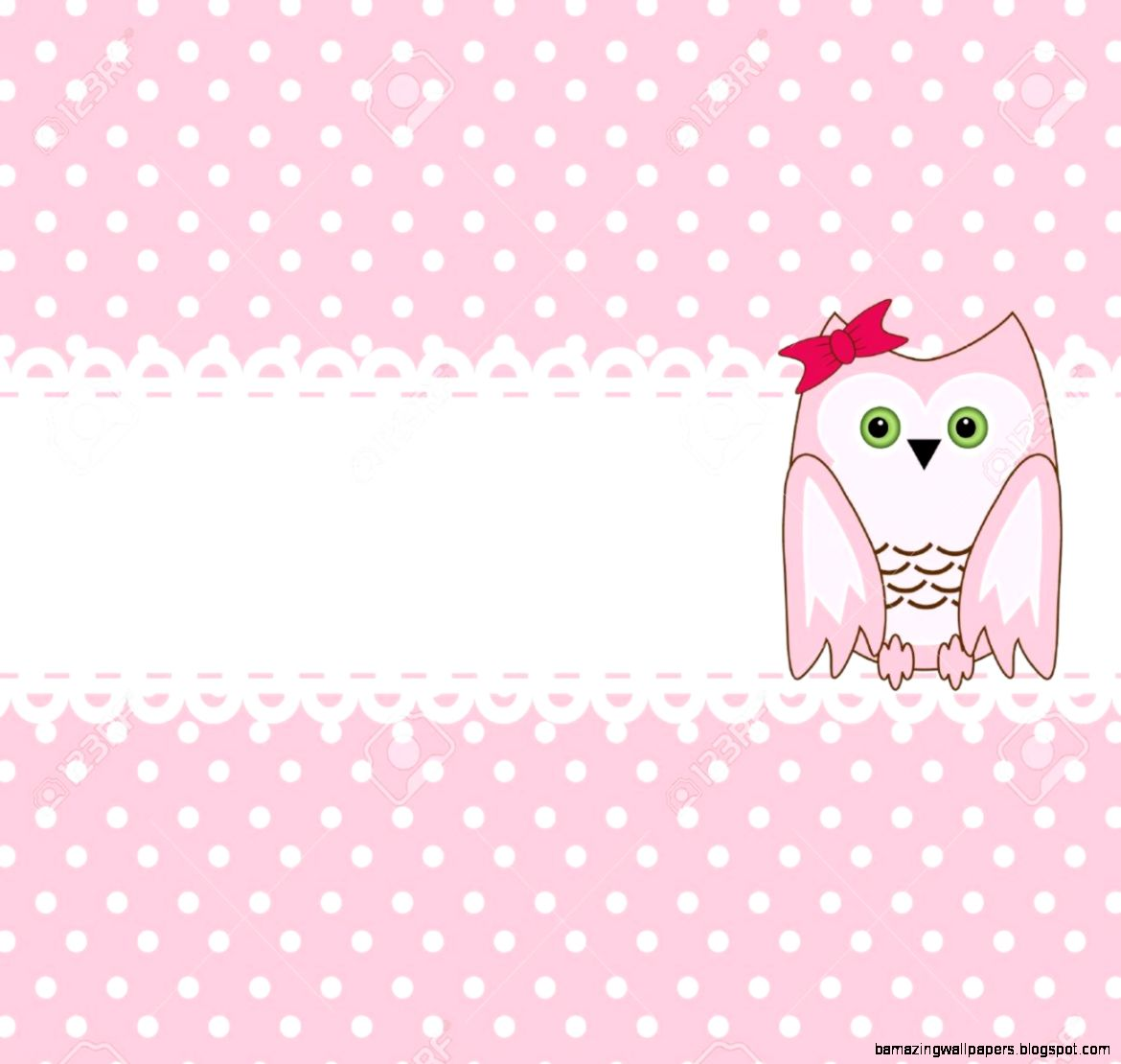 Cute Pink Owl Wallpaper | Amazing Wallpapers